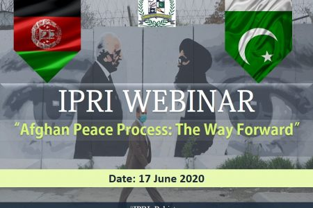 Webinar on Afghan Peace Process: The Way Forward