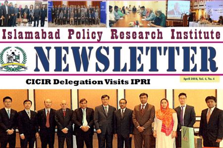 IPRI Newsletter April 2016