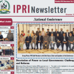 IPRI Newsletter October 2015