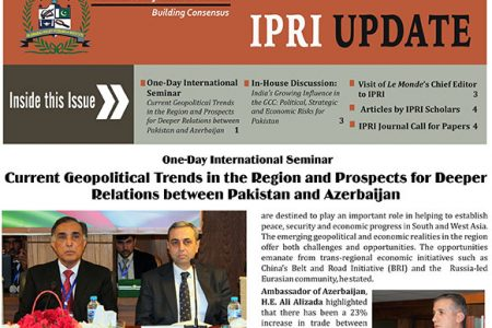 IPRI UPDATE Vol. 6, No.11
