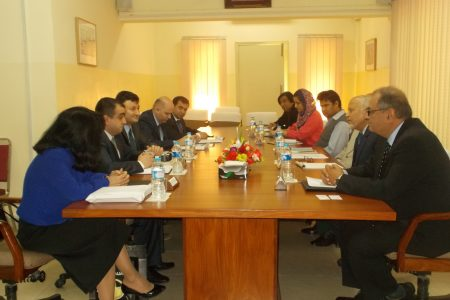 Delegation of SAM Azerbaijan Visits IPRI
