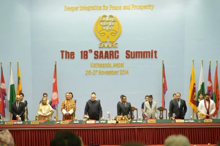 Pakistan-India relations via SAARC