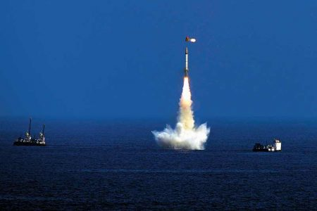 Indian missile system; threat to Pakistan