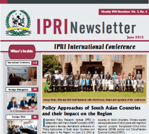 IPRI Newsletter June 2015
