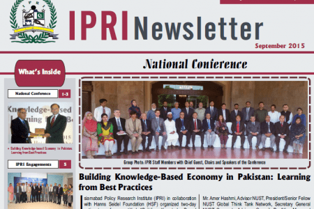 IPRI Newsletter September 2015