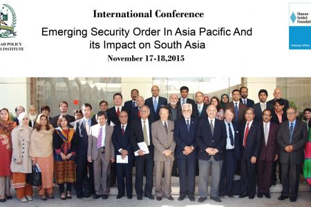 Emerging Security Order in Asia Pacific and its Impact on South Asia