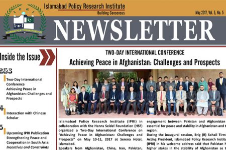 IPRI Newsletter May 2017