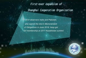 India-Pakistan and the SCO platform