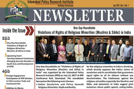 IPRI Newsletter July 2017