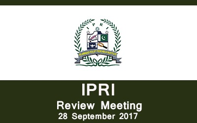 IPRI Review Meeting