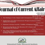 Journal of Current Affairs Vol. 2, No. 2, 2018