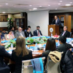 Visit of Johns Hopkins University's Scholars to IPRI