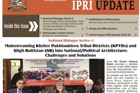 IPRI UPDATE Vol. 7, No.2
