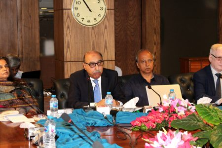 "One-day Media Workshop on ""Pakistan's Relations with US, China and Russia"""