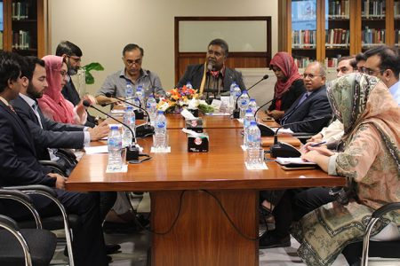 Visit of Maldivian Journalists to Islamabad Policy Research Institute