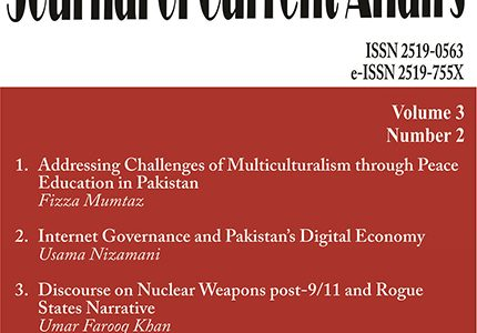 Journal of Current Affairs Vol. 3, No. 2