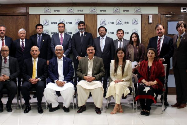 IPRI Counter Terrorism Moot on Effects of War against Terrorism on Pakistan's  Economy and Measures for its Revival