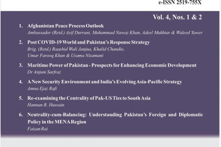 Journal of Current Affairs Vol. 4, Nos. 1 & 2