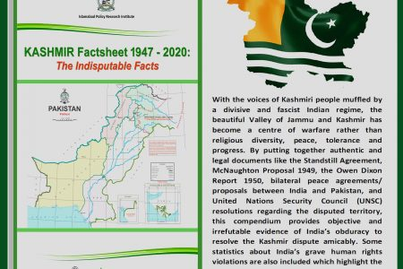 Kashmir Factsheet 1947-2020: The Indisputable Facts